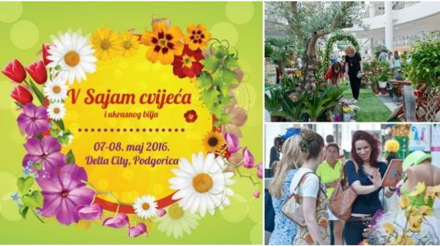 Sajam cvijeća i ukrasnog bilja u podgoričkoj Delti ovog vikenda