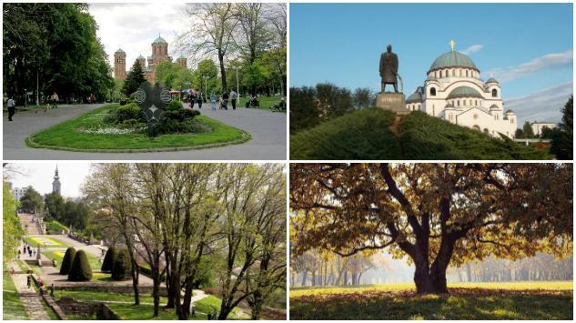 Zeleni Beograd – 5 najljepših parkovskih površina srpske prijestonice