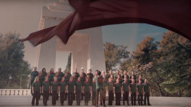 KIC POP HOR podario publici Bilećanku, Premijera simbolično, na nekadašnji Dan Republike
