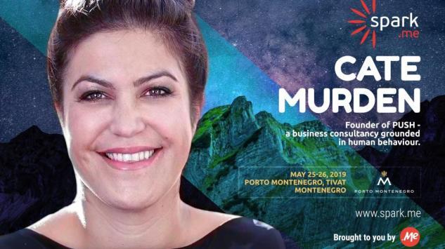 Kejt Murden je nova Spark.me govornica!