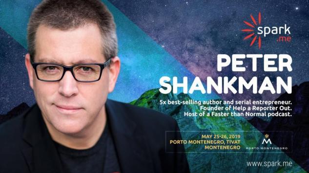 Piter Šenkmen je novi Spark.me 2019 glavni govornik!