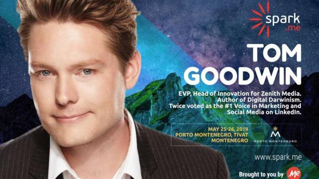 Tom Gudvin, direktor inovacija u agenciji Zenith Media, novi Spark.me najavljeni govornik!