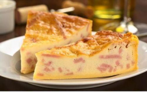 Brza pita sa sirom i šunkom
