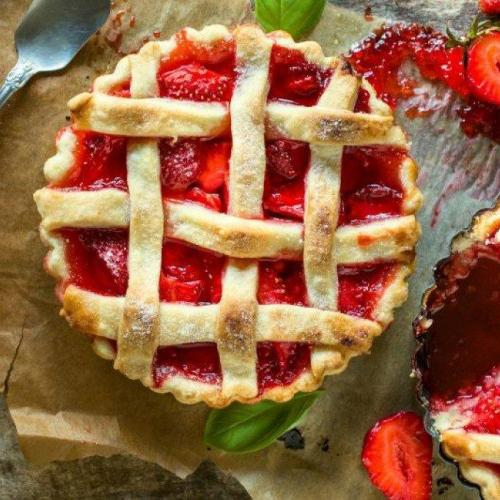 Brza ljetnja pita sa bobičastim voćem