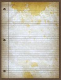 Masna fleka na papiru