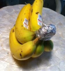 Da banane ostanu svježe 3 do 4 dana duže...