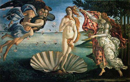 Botičeli radjanje Venere