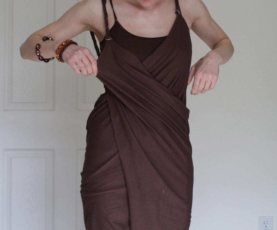 Платье накидка своими руками