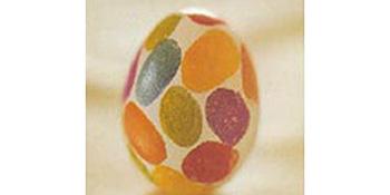 Uskršnja jaja sa otiscima prstiju