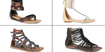 Ravne sandale za ovo ljeto