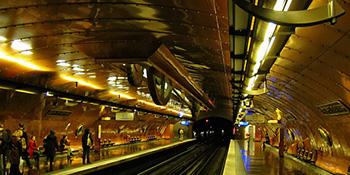 Stanice podzemne željeznice kao umjetnička djela današnjice