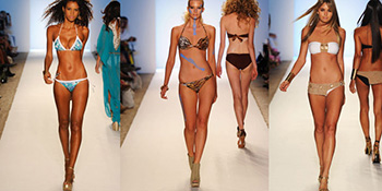 Fashion Week Miami 2012 - kupaći kostimi
