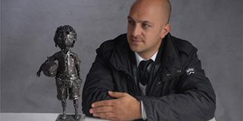 Izložba skulptura crnogorskog umjetnika Željka Reljića