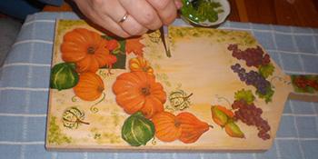 Salvet tehnika –napravite originalni ukras za svoju kuhinju