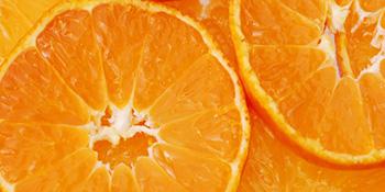 Čaša soka od pomorandže...