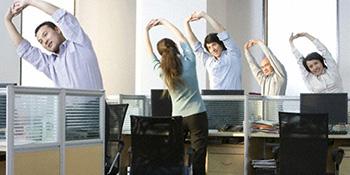 Fitness u kancelariji