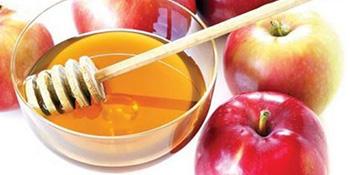 I opet jabuka i med... ali za ljepotu