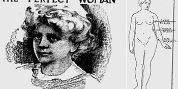 """Znate li koje su bile mjere """"savršene"""" žene 1912. godine?"""