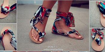 Pretvorite svoje stare japanke u unikatne ljetnje sandale