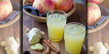 Osvježavajući eliksir od đumbira i jabukovog sirćeta