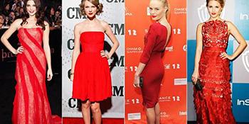 Crvena haljina - savršen izbor za novogodišnji look