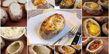Punjeni pečeni krompir
