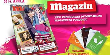 Četvrti broj Magazina u prodaji od 14. aprila