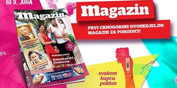 Osmi broj Magazina u prodaji od 9. juna