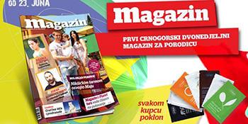 Deveti broj Magazina u prodaji od 23. juna