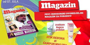 Deseti broj Magazina u prodaji od 07. jula
