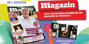 Dvanaesti  broj Magazina u prodaji od  4. avgusta