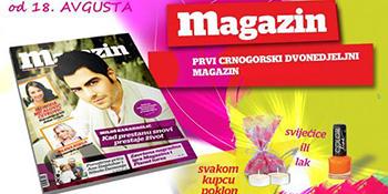 Trinaesti broj Magazina u prodaji od 18. avgusta
