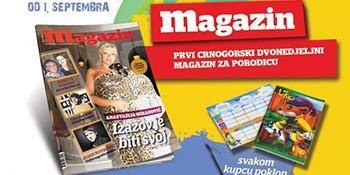 Četrnaesti broj Magazina u prodaji od 1. septembra