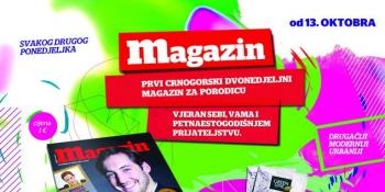 Sedamnaesti broj Magazina u prodaji od 13. oktobra