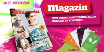 Dvadeseti broj Magazina u prodaji od 24. novembra