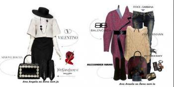 Kombinacije sa aktuelnim modelima poznatih svjetskih dizajnera
