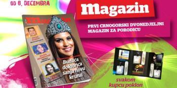 Dvadeset prvi broj Magazina u prodaji od 8. decembra