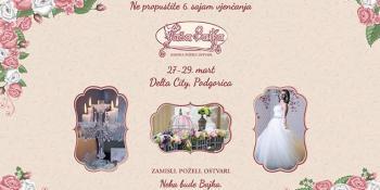 U petak u Podgorici počinje šesti sajam vjenčanja Vaša Bajka