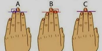 Dužina prstiju može da otkrije karakter!