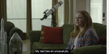 Pripremite maramice: Djevojčica poslala tati poruku vidljivu u svemiru! (VIDEO)