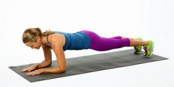 Plank: vježba koja zateže sve mišiće i topi celulit i masne naslage!