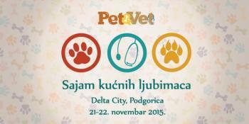 21. i 22. novembra u Podgorici sajam ljubimaca Pet&Vet