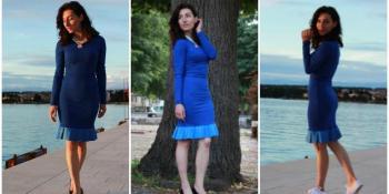 Elegancija u kraljevski plavom izdanju