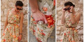 Cvjetna maksi haljina kao vječita ljetnja inspiracija