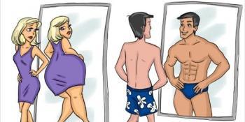 12 razlika između žena i muškaraca prikazanih na veoma zanimljiv način