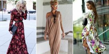 Hit proljeća – maksi haljina sa dugim rukavima