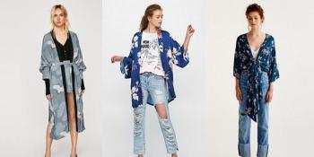 Kimono – trend koji traje iz sezone u sezonu, zadržaće se i ove jeseni