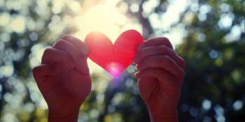 Srce na kašičicu