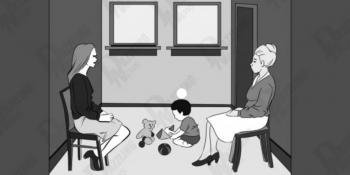 Koja od dviju žena je djetetova prava majka? Nije baš lagano
