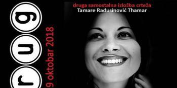 Druga samostalna izložba crteža autorke Tamare Radusinović Thamar